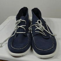 Ugg  Men's Ankle Shoes Size 15 Beach Moc- Chukka Boot Leather True Navy Nwot Photo