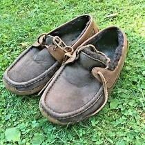 Ugg Mens Bryon Slipper Cappuccino Brown S/n 5102 Size 10 Retail 140 R76 Photo