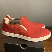 Ugg Mens Canvas 1020196 Red Sneakers Shoes Brand New Size 10 Authentic Photo