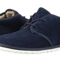 Ugg Men's Maksim Suede Leather Chukka Shoes Ankle Boots 1016680 New Navy Sz 18 Photo