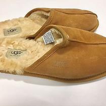 Ugg Men's Scuff Slipper Size 11 Chestnut Brown Photo