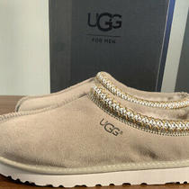 Ugg Mens Tasman 5950 Taupe/ Sz 10 Slippers Authentic Brand New Exclusive Color Photo
