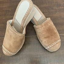Ugg...new Beautiful Carmel Colored Mules Slip Ons Shoes Photo