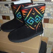 Ugg Nib Pendleton Boots Shot/medium Size 6 Photo