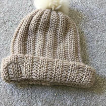 Ugg Oatmeal Knit Beanie Winter Cap Hat One Size Photo