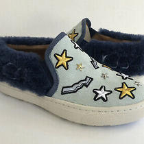 Ugg Patch It Slip on Bleach Denim Bling Platform Sneakers Us 6 / Eu 37 / Uk 4 Photo