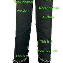Ugg Patricia Field Nordstrom Black Suede Over Th Knee Boots Sherling Mondri Sz 8 Photo