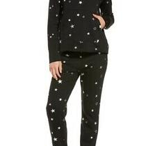 Ugg Pilar Sweatshirt/valentene Jogger Star Print Set Black Size S Msrp 186 Photo