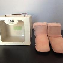 Ugg Pink Baby Booties Photo