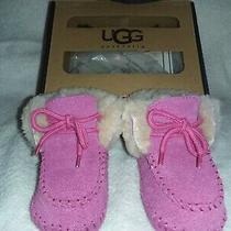 Ugg Pink Sparrow Baby Bootie 0-1 Photo