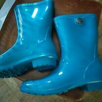 Ugg Rain Boots W Sienna Blue Size 9 Brand New Condition Without Box Photo