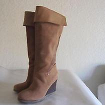 Ugg-Ravenna-Tall-Wedge-Boots-Size-8 Photo