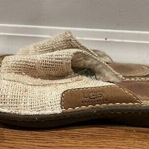 Ugg Sandals Sheepskin  Indoor Outdoor Slippers Size 6 Us Womens Photo