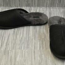 Ugg Scuff 1108192 Slippers Men's Size 9 Black Photo
