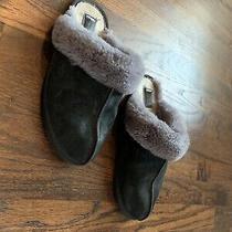 Ugg Scuffette Ii Fashion Women's Slippers 9 Us - Black/grey Photo