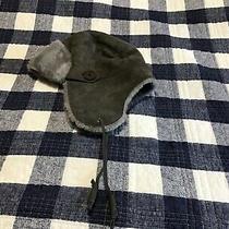 Ugg Shearling Hat Gray O/s Euc Photo