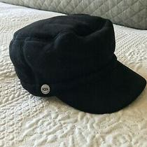 Ugg Shearling Hat Sheepskin Black Photo