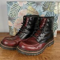 Ugg Shearling Red and Black Vibram Snow Boots Mens 10 Orig 300 Moving Sale Photo