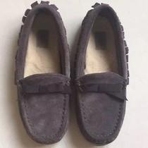 Ugg Sheepskin Bow Moccasin Loafer Slippers Photo