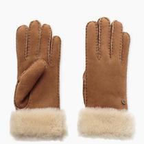 Ugg Sheepskin Womens Gloves Size Med Nwt Photo