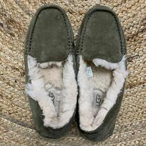 Ugg Size 7 Ansley Slippers in Olive Green Photo