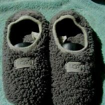Ugg Size 8  Grey Shearling Slippers F16018g Photo