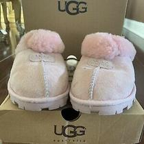 Ugg Slippers Coquette Scuff Sm5125 Pink Size 8 Photo