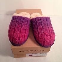 Ugg Slippers Size 1  Color Raspberry Photo