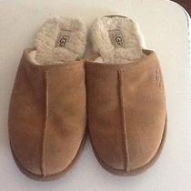 Ugg Slippers Size 8 Women's Brown Leather Photo