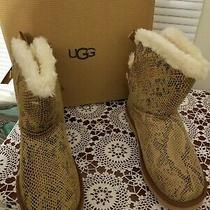 Ugg Snake Skin Style Boots Size 9 (New)  Photo