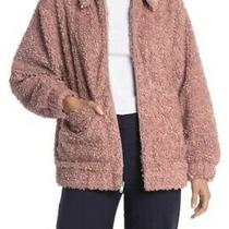 Ugg Super Soft Kaley Teddy Bear Zip Up Faux Fur Coat Photo