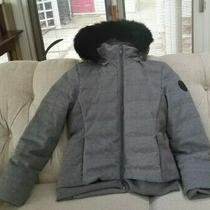 Ugg Talia Women's Wool Sheepskin Down Jacket Gray Heather Size Small 495 Nwot Photo