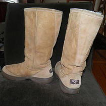 Ugg Tall Boots Chestnut Size 11 Photo
