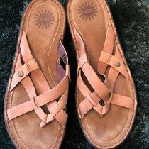 Ugg - Tan Womans Sandals - W9  Photo