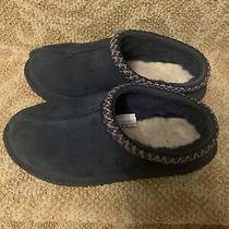 Ugg Tasman 5955 Slippers - Girls Size 3 No Box Worn Navy Blue Photo