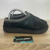 Ugg - Tasman Black Grey Slippers - Women's 9 Photo