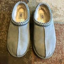 Ugg Tasman Clog Slippers Loafers Seal Gray Suede /  Sheepskin -Mens Us 9 -New Photo