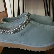 Ugg Tasman Succulent Suede Fur Slippers Womens Size 7 New Photo