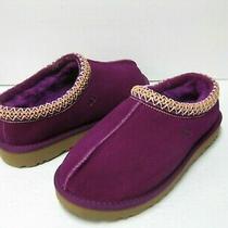 Ugg Tasman Women Slippers Suede Deep Purple  Us 8 /uk 6 /eu 39 Photo