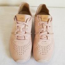 Ugg Treadlite Pink Nubuck Leather Sneaker Womens Us Eu 5 Photo