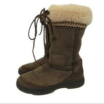 Ugg Ultimate Cuff Tie Winter Boots S/n 5273 Women's 6 Photo