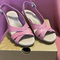 Ugg Us 6 Pink Wedge Sandals Women's Photo