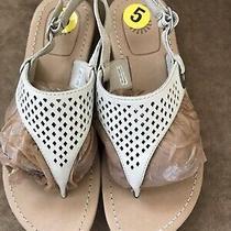 Ugg Vivian Ii Beige Cutout Thong Sandal Size 5 1002667 New Without Box Photo