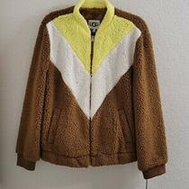 Ugg W Annalise Teddy Jacket Nwt Size L Msrp 150.00 Photo