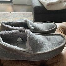 Ugg Water Resistant Moccasin Slippers Men's Size 12 Grey Photo