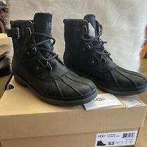Ugg Waterproof W Cecil 1007999 E / Blk Size 8.5 Usa Black Boots Photo