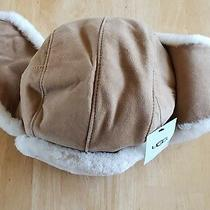 Ugg Winter Hat Trapper Shearling Bailey Chestnut Size S/m 1093833 Brand New Photo