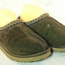 Ugg Womans Tasman Mocassin Style Slip on Slippers House Shoes Some Stains. Photo