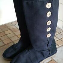 Ugg Women Classic Short Black Boots Us Size 6 Shoes Photo