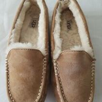 Ugg Women's Ansley Water Resistant Slippers Chestnut Suede Size 9 Photo